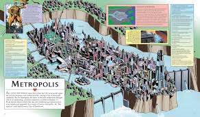 Dc Comics World Map by Can You Identify The Fictional Location By The Map Playbuzz