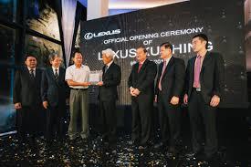 lexus malaysia financing lexus malaysia opens first 3s centre in kuching wemotor com