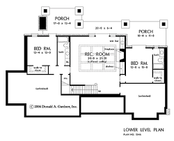 home floor plans with basement house plan the asiago ridge by donald a gardner architects