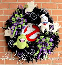 ghost busters halloween irish u0027s wreaths where the difference is in the details