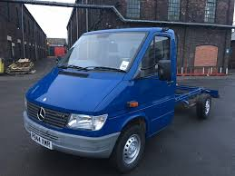 used mercedes benz sprinter chassis cab 2 9 312 chassis cab 2dr