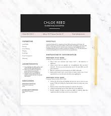 Resume Template It Professional Resume Cv Cover Letter Free Resume Template Resume And Cover