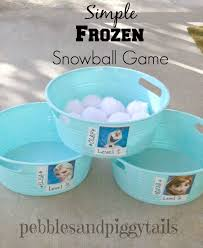 simple frozen birthday party ideas 2 frozen party games