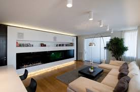 cool modern dining room apartment living room with tv home