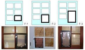 doggy door glass door hale pet door installation instructions