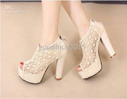 wedding shoes online women hollow lace black bridal wedding shoes gril fish