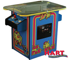 Ms Pacman Cocktail Table Tabletop Ms Pacman Hart Entertainment