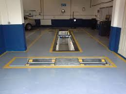 class 7 mot bay recent mot pit installation feb 2014 v tech uk garage equipment