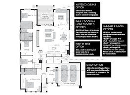 House Plans With Butlers Pantry Martell Floorplans Mcdonald Jones Homes