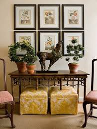 Yellow Console Table Interiors Furniture U0026 Design Console Table Decorating Ideas