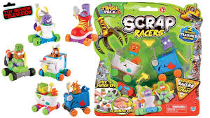 trash pack scrap racers twin pack toy review