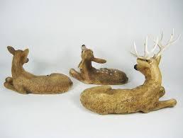 Home Interiors Website Awesome Homco 1984 Home Interiors Set Of 3 Deer Family Buck Doe