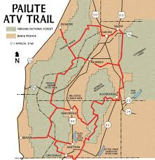 National Parks In Utah Map by Dirt Wheels Magazine Where To Ride Paiute Gooseberry Trail Systems