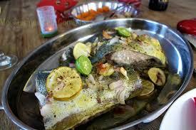 cuisine du poisson poisson en saumure parfumée cuisson au four saveurs créoles ma