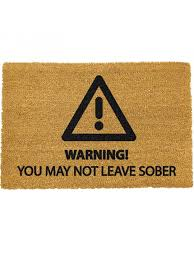 Doormat Leave Ckb Ltd Novelty Coir Doormats With Funny Quotes U0026 Designs