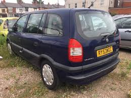 vauxhall zafira 2 0 diesel 2004 service history spares and