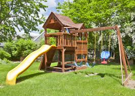 Backyard Playground Slides Tips For Keeping Your Children Safe In Your Backyard Playground