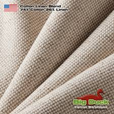 linen wholesale fabric preshrunk cotton blend made in the usa