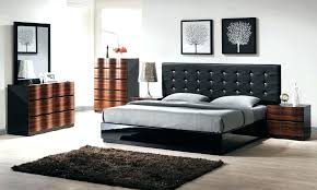 oak contemporary bedroom furniture beds modern dark wood bedside