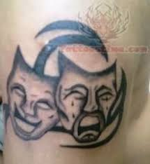 tattoo joker mask joker mask tattoo on shoulder photos pictures and sketches