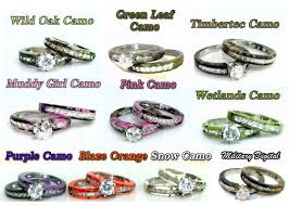 his and camo wedding rings camo promise rings for couples places to visit