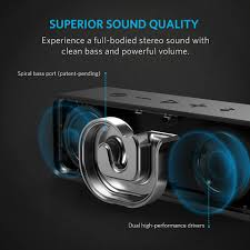 anker soundcore 6w bluetooth speaker with superior sound and built