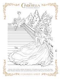 disney u0027s cinderella coloring pages activity sheets