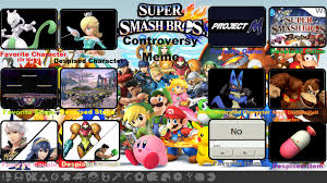 Smash Bros Memes - super smash bros controversy meme thing i guess by avoidspiltjuice
