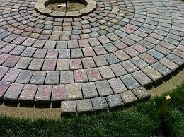 How To Install A Paver How To Build A Patio And Fire Pit With Easy Instructions And Step