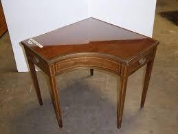 Corner Accent Table Norcal Online Estate Auctions U0026 Estate Sales Lot 155 Vintage