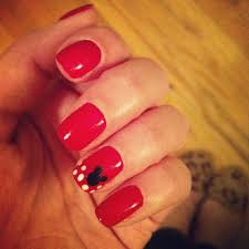 mickey mouse nails by our talented nail technician april