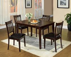 amazon com furniture of america letta 5 piece dining table set amazon com furniture of america letta 5 piece dining table set espresso finish table chair sets