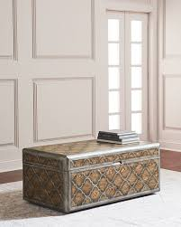 trunk style side table hooker furniture herman trunk style coffee table