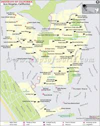 Illinois State Campus Map by Ucla Map Map Of University Of California Los Angeles Usa