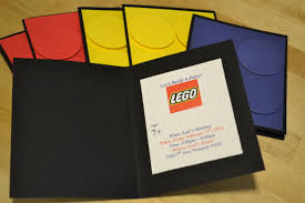 How To Make Your Own Invitation Cards Lego Party Invitations Theruntime Com