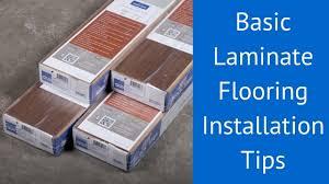 basic laminate flooring installation tips