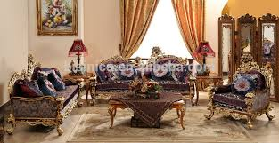style house china baroque baroque style living room sofa set retro wood carving living room