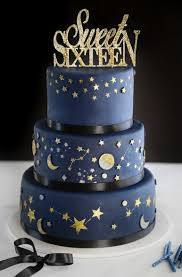 sweet 16 cakes celestial sweet sixteen cake sprinkle bakes