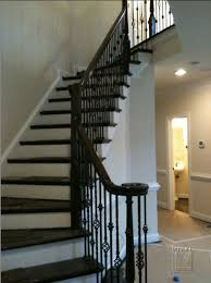 Wrought Iron Railings Interior Stairs Marvelous Black Wrought Iron Stair Railing 28 On Interior Design