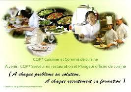 commi de cuisine acquérir une qualification en restauration cfa08