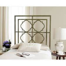 safavieh silva metal headboard multiple colors walmart com