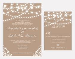 wedding invitations with pictures wedding invitations etsy