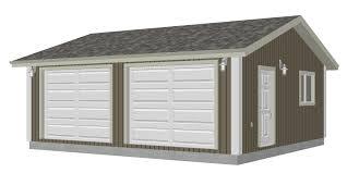 24 x 24 garage plans g528 24 x 22 x 8 garage plan pdf and dwg