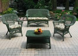 Patio Wicker Chairs Picture Of Outdoor Patio Wicker Rattan Furniture Set Cushioned 4