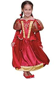 girls medieval queen fancy dress costume 9 11 years travis