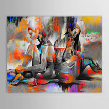 Paintings For Living Room Aliexpress Com Buy Unframed Hand Painted Oil Painting Canvas