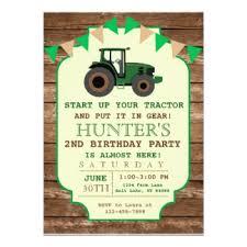farm birthday invitations announcements zazzle