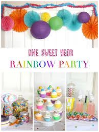 Rainbow Themed Birthday Favors by Best 25 Rainbow Birthday Ideas On Photo Banner