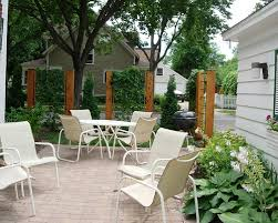 small outdoor spaces outdoor design ideas creating privacy in small outdoor spaces