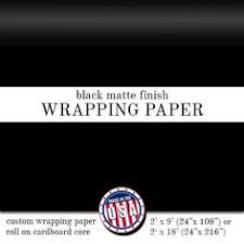 black matte wrapping paper custom wrapping paper patriotic blue with by pineandberryshop